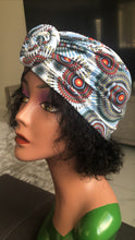 Load image into Gallery viewer, African Print Knot Head-wrap Bandana