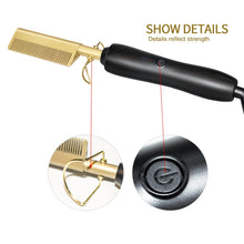 Load image into Gallery viewer, Ceramic Press Comb - Straightener & Curler