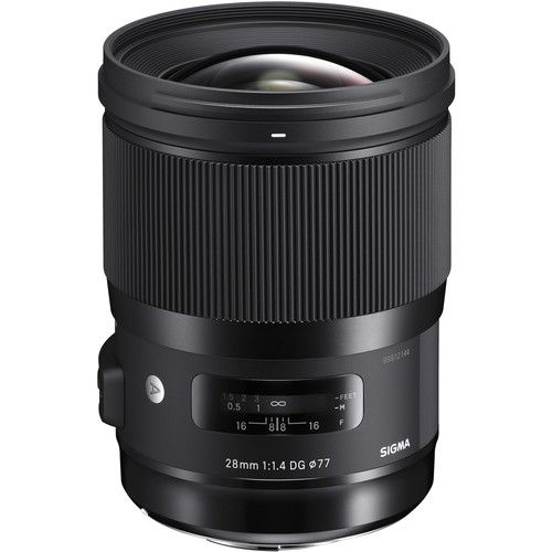 Sigma 28mm f/1.4 DG HSM Art Lens