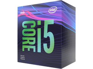 Intel Core i5 9400F 2.90 GHZ Turbo @ 4.1GHZ 6 Core 6 Thread 9MB Smartcache