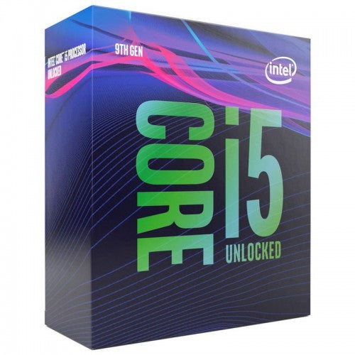 Intel Core i5 9600K 3.70 GHZ Turbo @ 4.6GHZ 6 Core 6 Thread 9MB Smartcache