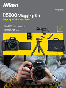 D5600 + Vlogging Kit: