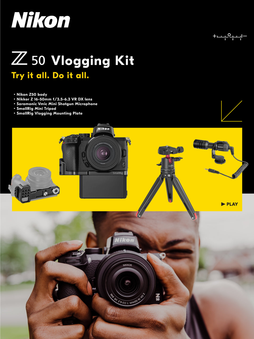 Z50 + Vlogging Kit