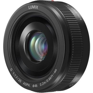 Panasonic Lumix G 20mm f/1.7 II ASPH Lens