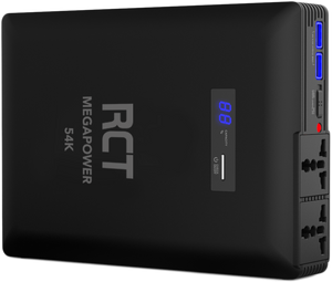 RCT MegaPower 54000 mAh AC Power Bank