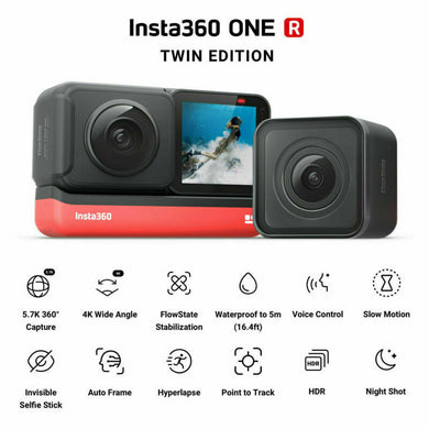 Insta360 One R Twin Lense bundle