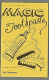Magic Toothpaste by Ted Carrothers - Book