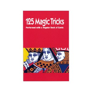 125 Tricks with Cards by Royal Magic - Book