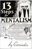 13 Steps to Mentalism by Tony Corinda - Book