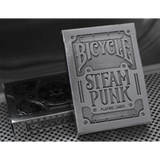Bicycle Steampunk Playing Cards (Bronze, Silver) by USPCC and theory11