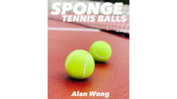 Sponge Tennis Balls (pack of 3) by Alan Wong