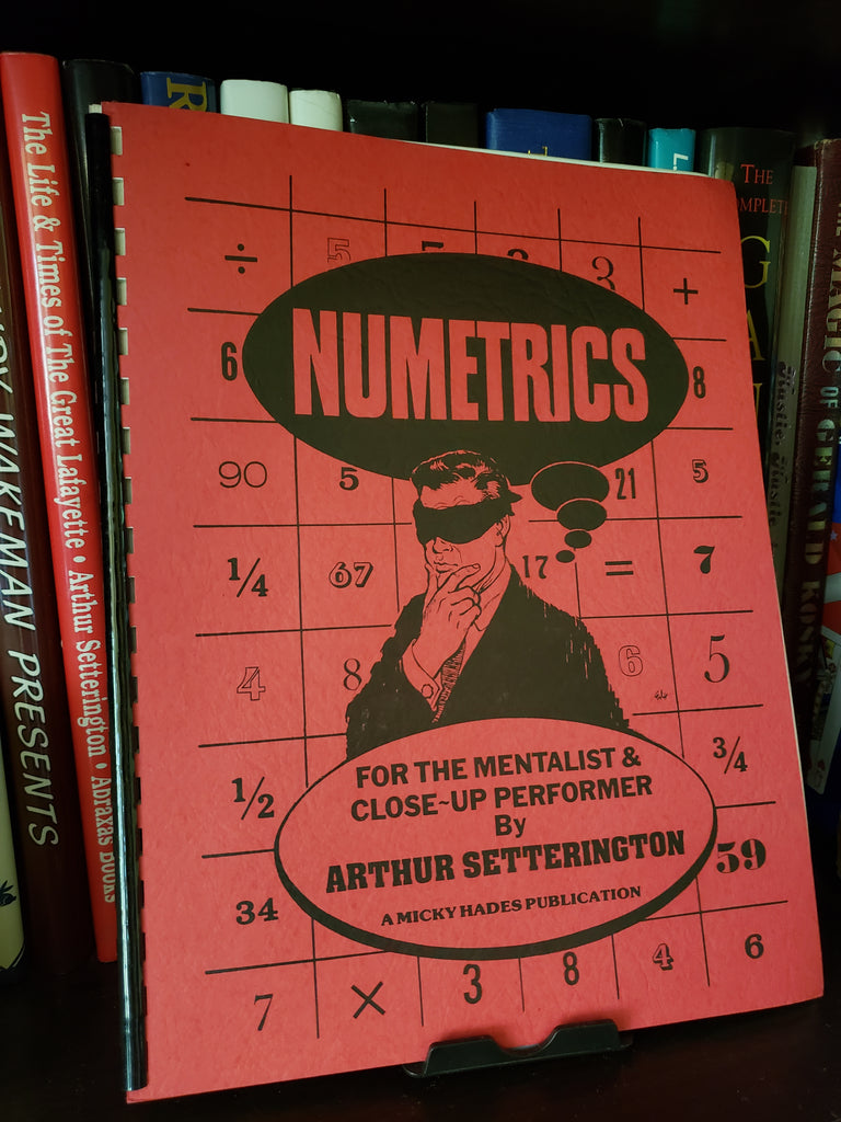 Numetrics by Arthur Setterington - Book