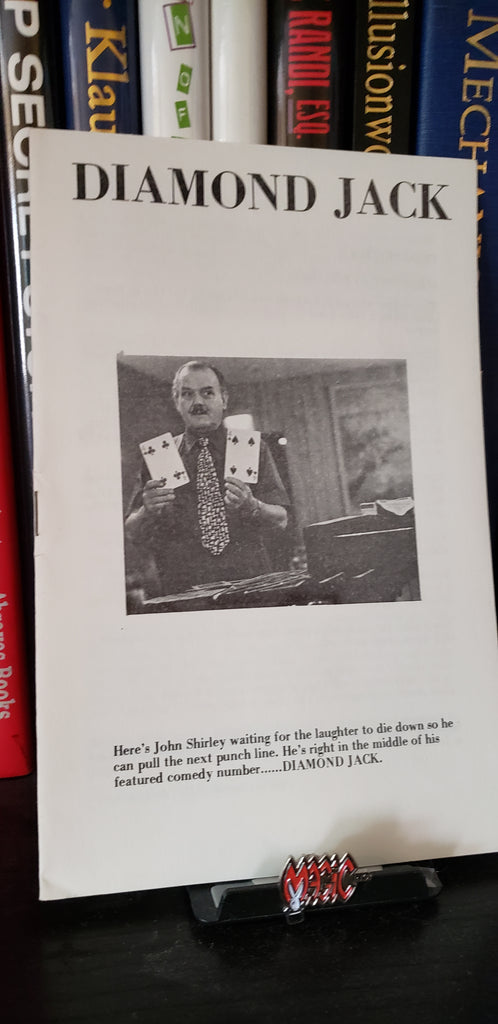 Diamond Jack by John Shirley - Book