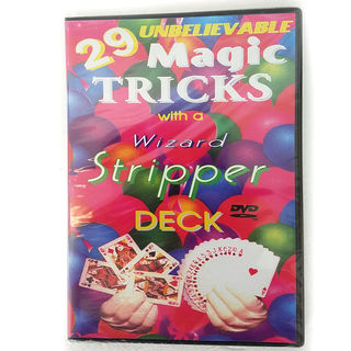 29 Unbelievable Magic Tricks With a Stripper Deck - DVD