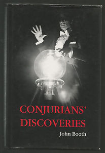 Conjurians Discoveries by John Booth - Book
