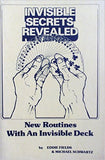 Invisible Secrets Revealed - New Routines with an Invisible Deck - Book