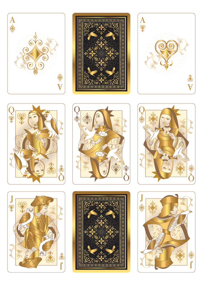 The Other Kingdom Playing Cards (Bird Edition) by USPCC