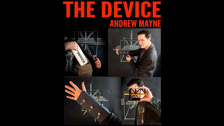 The Device by Andrew Mayne - Book