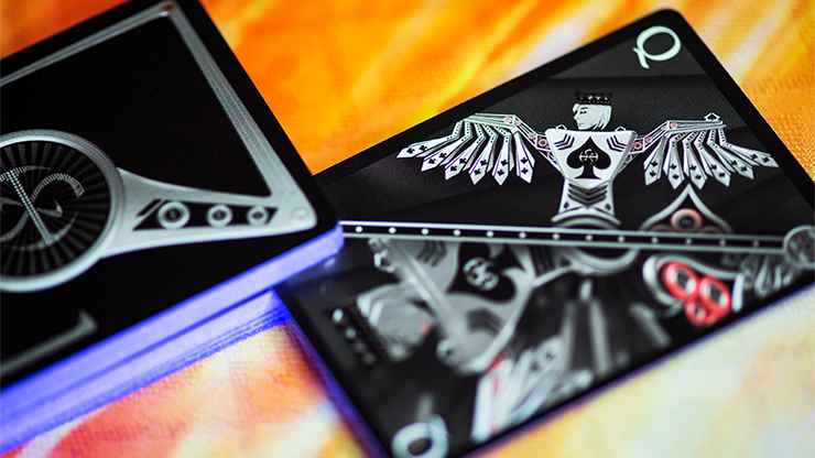 Chrome Kings Artist Limited Edition Playing Cards by De'vo vom Schattenreich and Handlordz