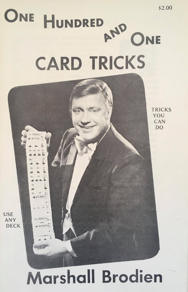 101 Card Tricks by Marshall Brodien - Book