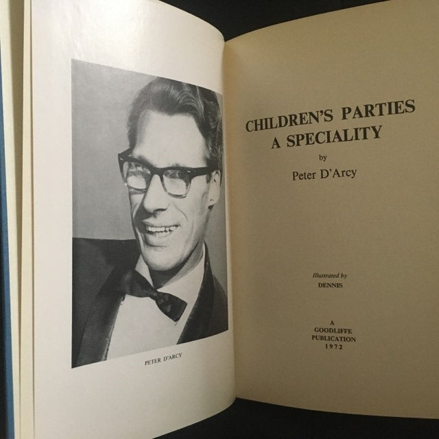 Children's Parties a Speciality by Peter D'Arcy - Book