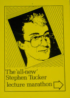 The 'All New' Stephen Tucker Lecture Marathon - Book