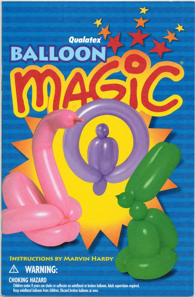 Balloon Magic by Marvin Hardy - Book
