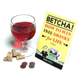 BETCHA! How to Win Free Drinks for Life by Simon Lovell - Book
