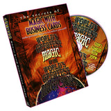 World's Greatest Magic - Magic With Business Cards - DVD
