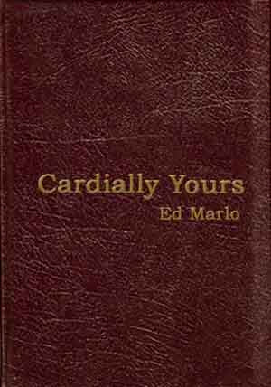 Cardially Yours Limited and Numbered Collector's Edition in Burgundy Leatherette