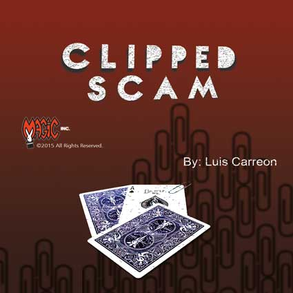Clipped Scam by Luis Carreon - Trick