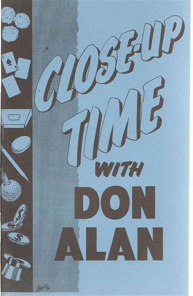Close Up Time by Don Alan - Book