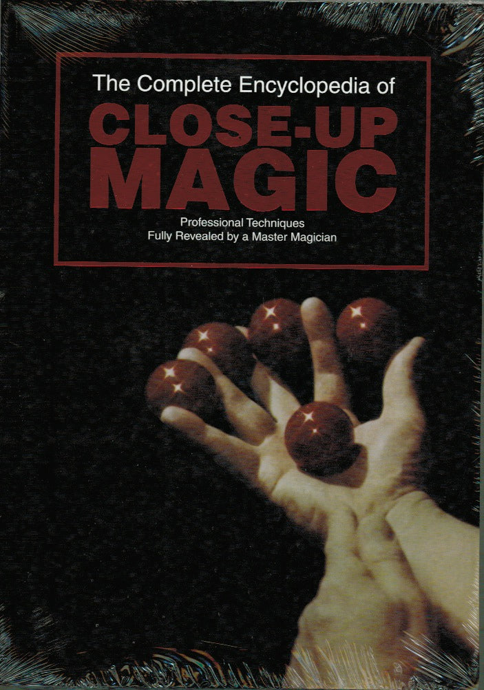 The Complete Encyclopedia of Close-up Magic by Walter B.  Gibson - Book