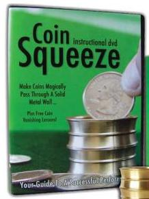 Coin Squeeze - ONLY Instructional DVD