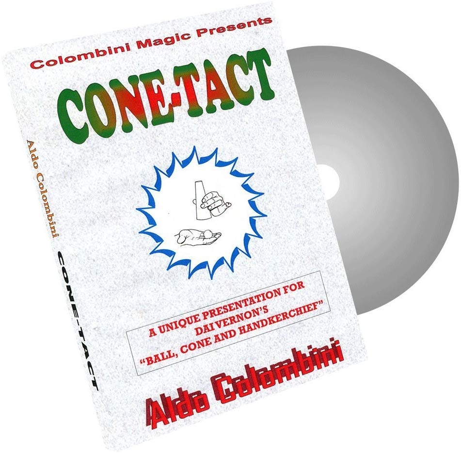 Cone-Tact by Aldo Colombini - Ball, Cone & Handkerchief - DVD