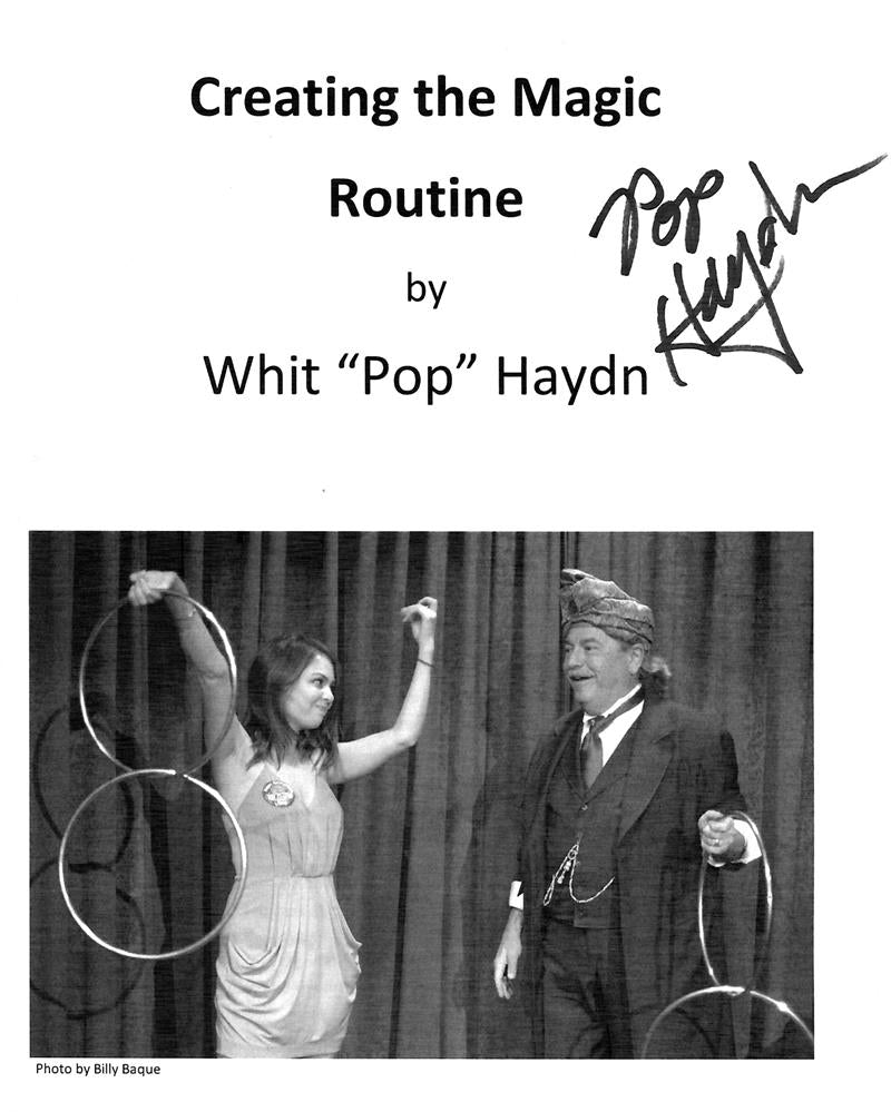 Creating the Magic Routine by Whit Pop Haydn - Book