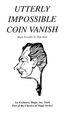 Don Alan's Utterly Impossible Coin Vanish