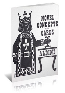 Novel Concepts with Cards by Aldini - Book