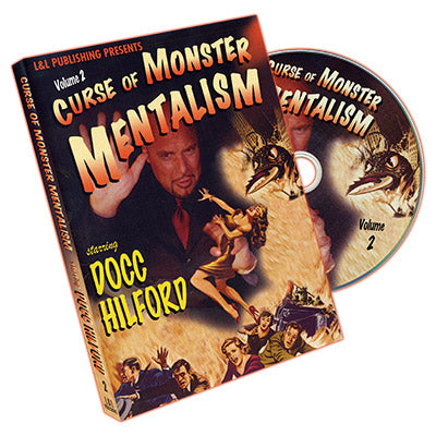 Curse Of Monster Mentalism - Volume 2 by Docc Hilford - DVD
