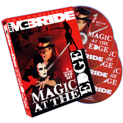 Magic At The Edge (3 DVD SET) by Jeff McBride - DVD