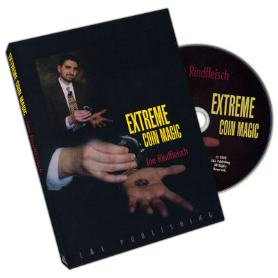 Extreme Coin Magic by Joe Rindfleisch - DVD