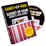 Sleight Of Hand With Cards by Jay Sankey - DVD