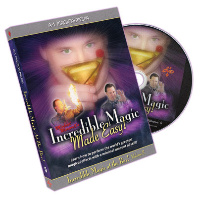 Incredible Magic At The Bar - Volume 5 by Michael Maxwell - DVD