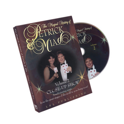 Magical Artistry of Petrick and Mia Vol. 2 by L&L Publishing - DVD