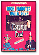 Dynamic Duo by Rich Moratta and Twila Zone - DVD