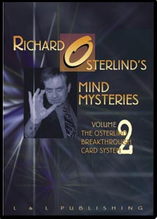Mind Mysteries Vol. 2 (Breakthru Card Sys.) by Richard Osterlind - DVD