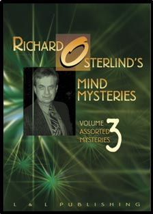 Mind Mysteries Vol. 3 (Assort. Mysteries) by Richard Osterlind - DVD