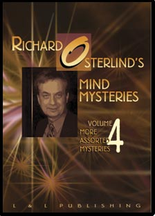 Mind Mysteries Vol. 4 (More Assort. Myst.) by Richard Osterlind - DVD