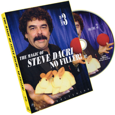 No Filler #3 by Magic of Steve Dacri - DVD