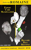 Expert Card Manipulation & Billiard Ball Routines featuring Romaine (2 DVD-Set) - DVD